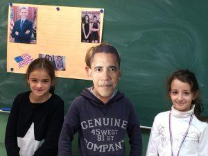 Obama élèves
